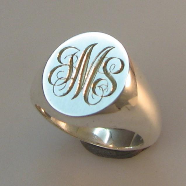 9ct Gold Halmarked Secret Signet Ring